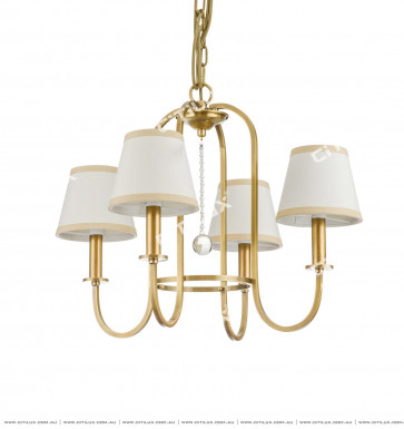 American Copper Chandelier Citilux