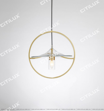 New Chinese Simple Artistic Single Head Chandelier Citilux