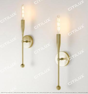 Pre-Sold Minimalist Metal Single Head Wall Light Citilux