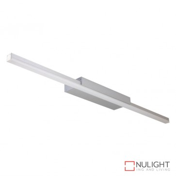 Shadow Line Wall Mounted Led Profile Natural Clear Anodised Finish Opal Diffuser DOM