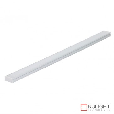 Nova Line Sm Surface Mounted Led Profile Natural Clear Anodised Finish DOM