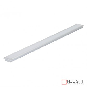Nova Line Rc Recessed Led Profile Natural Clear Anodised Finish DOM