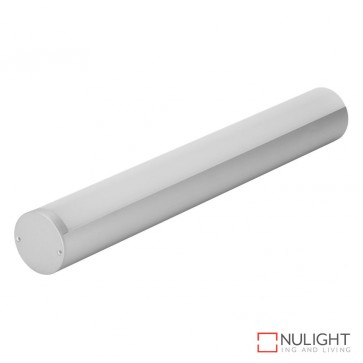 Pipeline 40 Suspended Led Profile Natural Clear Anodised Finish Opal Diffuser DOM