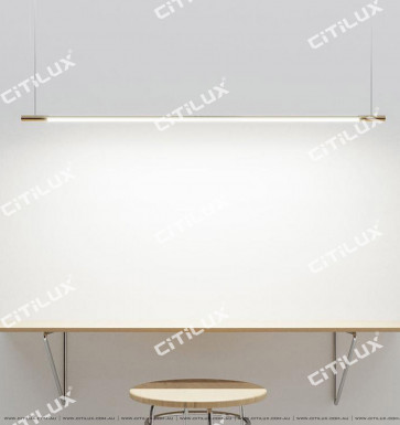 Minimalist Strip Tube Led Chandelier Citilux