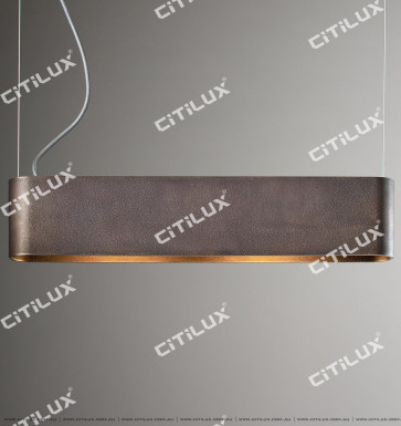 Coffee-Colored Matte Matte Finish Strip Minimalist Restaurant Light Citilux