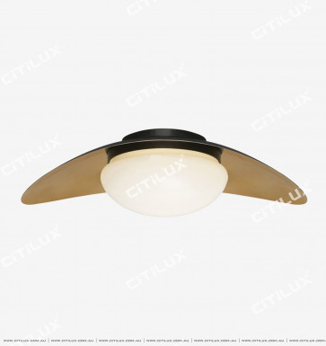 Simple Copper Bead Single-Headed Ceiling Light Citilux