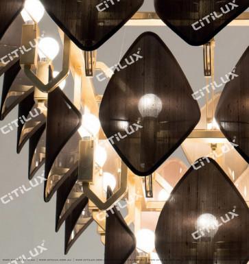 Modern Diamond-Shaped Hood Multi-Tier Chandelier Citilux