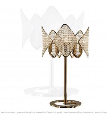 Modern Diamond-Shaped Crystal Ball table lamp Citilux