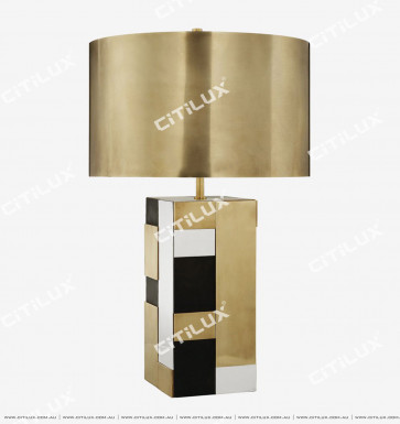 Metal Splicing Modern Table Lamp Citilux