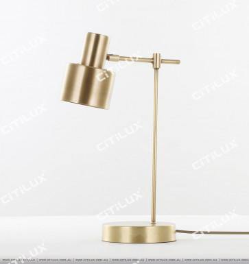 All Copper American Ball Glass Single Head Lamp Citilux