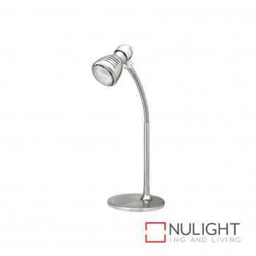Sorrento Eco Table Lamp Flex Neck 11W Cfl Globe Incl Br And Chr BRI