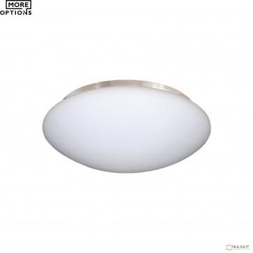 Ariel Clipper Fan Light B22X2 Matt Opal Glass BRI