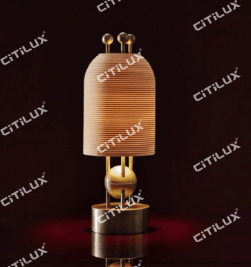 Full Copper Threaded Milk White Glass Single Head Lamp Citilux