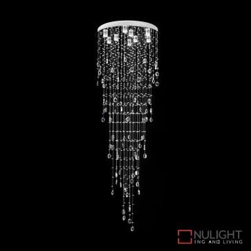 Raindrop 86 Crystal Led Pendant Diameter 860Mm White Led DOM