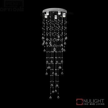Snowdrop 86 Crystal Led Pendant Diameter White Led DOM