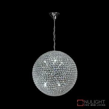 Venus 80 Crystal Led Pendant Diameter 800Mm White Led DOM