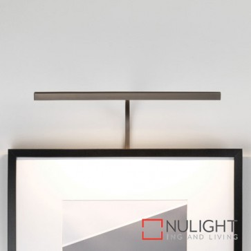 Mondrian 400 Frame Mounted LED Bronze Picture Light 7891 AST