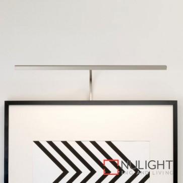 Mondrian 600 Frame Mounted LED Matt Nickel Picture Light 7889 AST