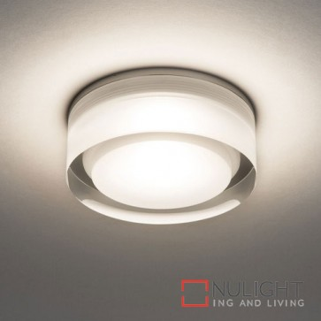 Vancouver Round 90 LED Clear Acrylic 5752 AST