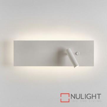 Edge Reader LED Single Switch Matt White 7959 AST
