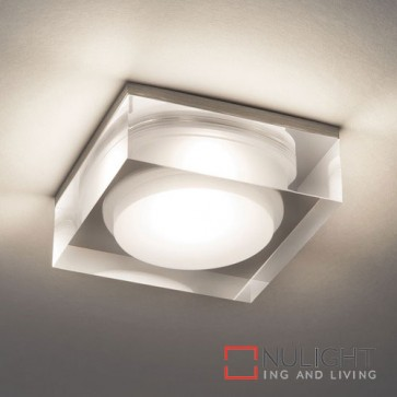 Vancouver Square 90 LED Clear Acrylic 5753 AST