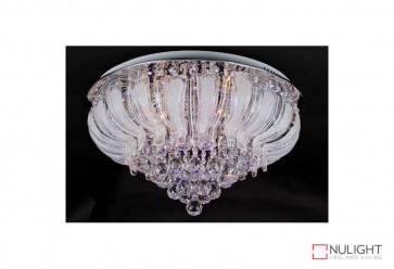 Stella 9075-60cm LED Flush Crystal Ceiling Light VAM