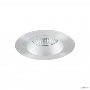 Lumina Round Recessed Downlight Brushed Aluminium BRI