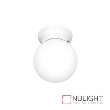 Sphere 6 Inch Diy Glass Ball White BRI