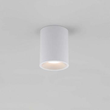 Kos Round 100 LED Textured White 1326025 Astro