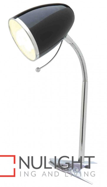 Sara Clamp Lamp Black MEC