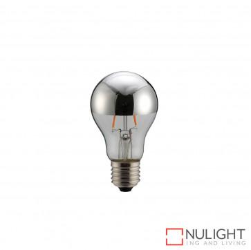 LED Crown Globe A60 6W E27 2700K Silver ORI