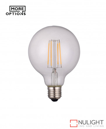 LED filament globe E27 2700K ORI