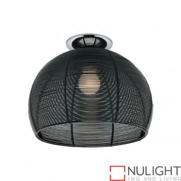 Arden 1 Light Batten Fix Black COU