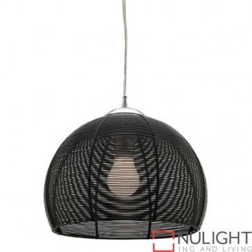 Arden 1 Light Pendant Black COU