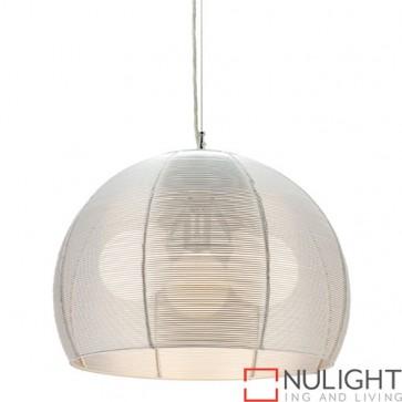 Arden 3 Light Pendant Silver COU