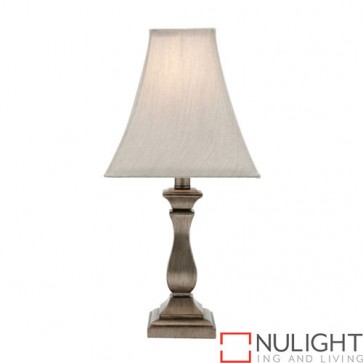 Armon 1 Light Table Lamp Antique Silver COU