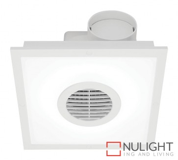 Skyline Led Square Exhaust Fan White MEC