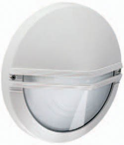 Boluce Astra Round Outdoor Wall Light with Eyelid