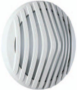 Boluce Astra Round Outdoor Wall Light with Full Grille