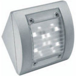 Boluce Intro Square Angled Outdoor Wall Light