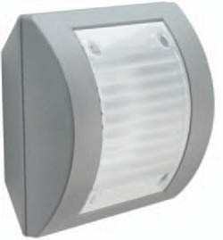 Boluce Intro Square Flat Outdoor  Wall Light