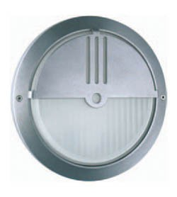 Boluce Ipse Round Outdoor Wall Light with Eyelid