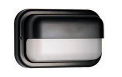 Boluce Kappa Rectangular Outdoor Wall Light with Horizontal Eyelid