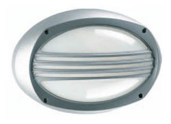 Boluce Lem Oval Bunker Light with Grille