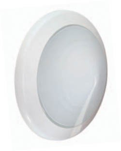 Boluce Perla Round Ceiling Oyster Light with Satin Glass