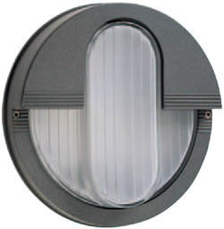 Boluce Rem Round Bunker Light with Vertical Eyelid