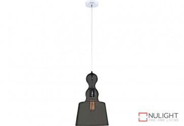 Campana Grey-Ch Glass Pendant VAM