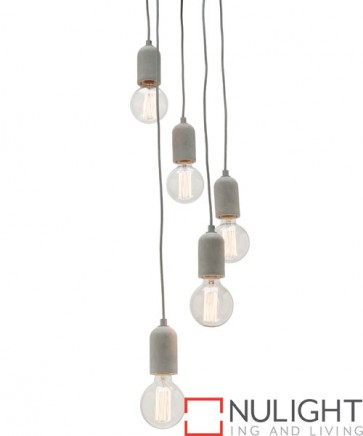 Cemi 5 Light Pendant COU