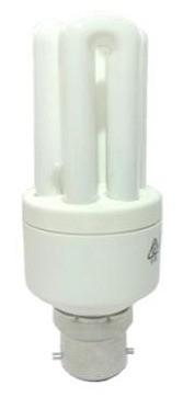 240V 20W BC Economy Luxman Fluorescent Bulb 6000 Hours CLA Lighting