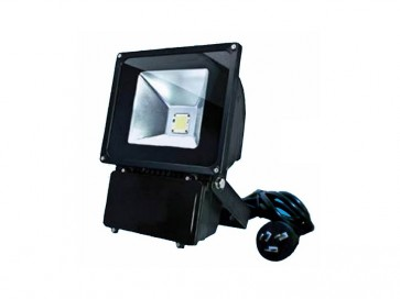 1.5M Flex and Plug 70W Led Flood Light in Black CLA Lighting